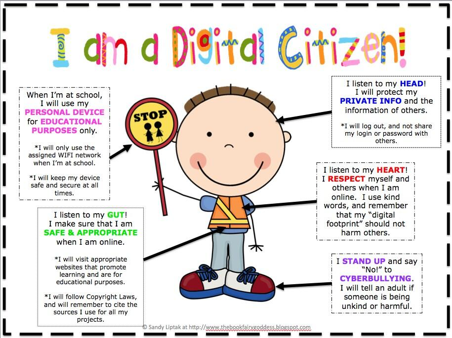 I am a Digital Citizen by Laura Conley