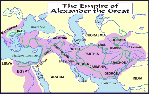 a comparison of the rule of alexander the great to that of near eastern imperial rule The mightiest empire in the world collapsed in only eight years, when it fell under the attack of a young macedonian king, alexander the great persia's weakness was exposed to the greeks in 401 bc, when the satrap of sardis hired ten thousand greek mercenaries to help secure his claim to the imperial throne (see xenophon.