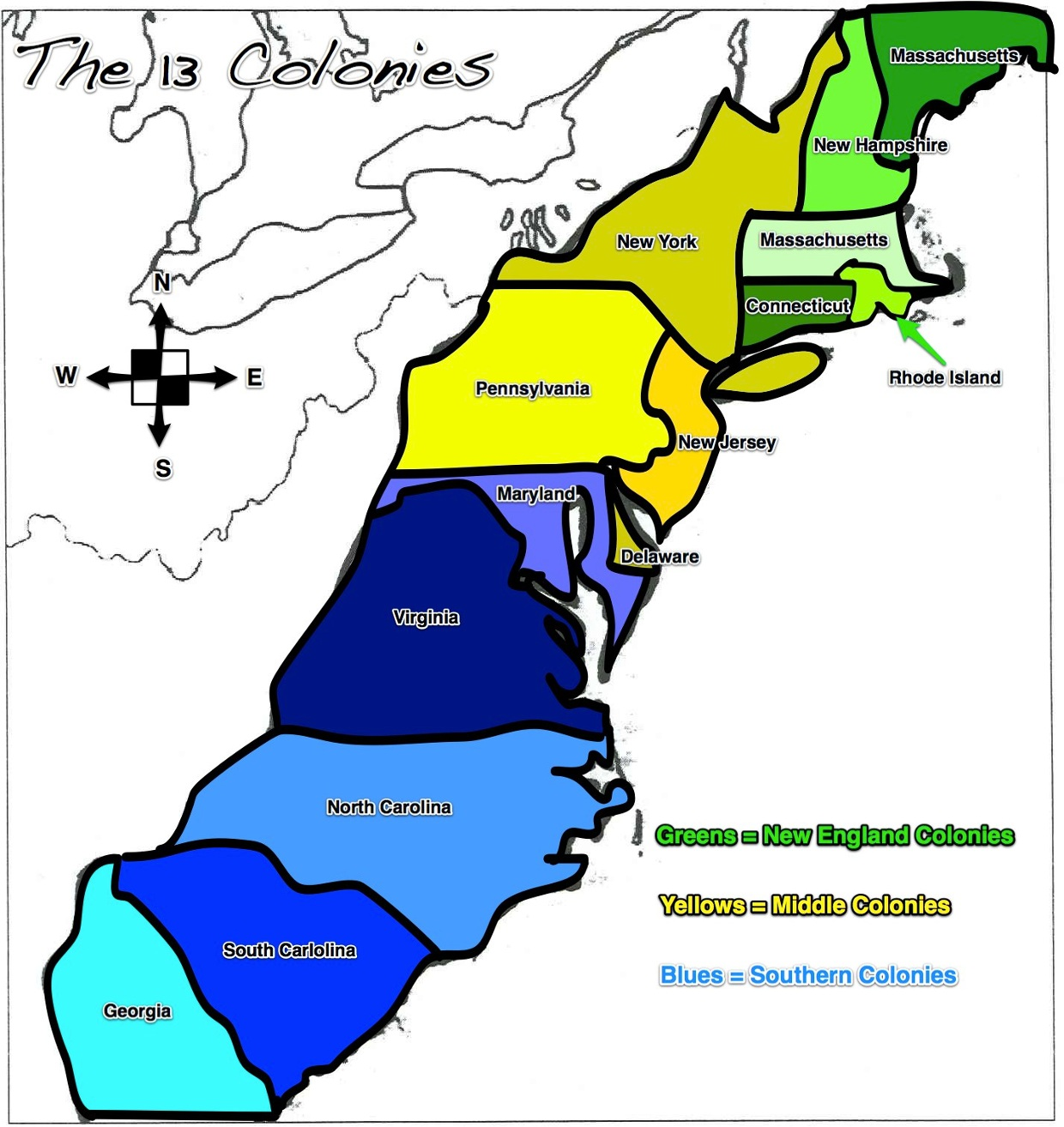 The Georgia Colony Was One Of The Original Colonies Lo - Georgia map 13 colonies