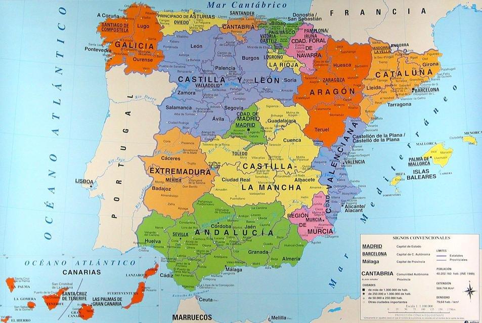 Mapa lingüístico de España
