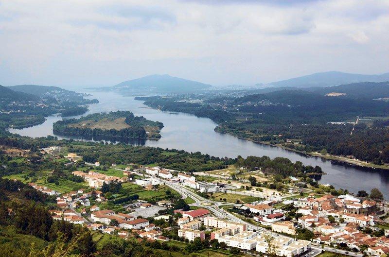 Portugal vila nova de cerveira portugal city water i - Vilanova de cerveira ...