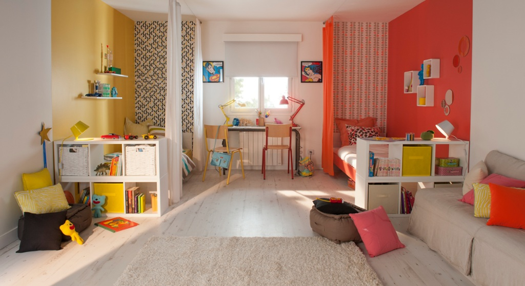2 enfants 1 chambre 5 id es d co elle d coration for Decoration chambre 2 garcons