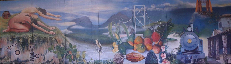 La historia de la pintada en un mural thinglink for Caracteristicas de un mural
