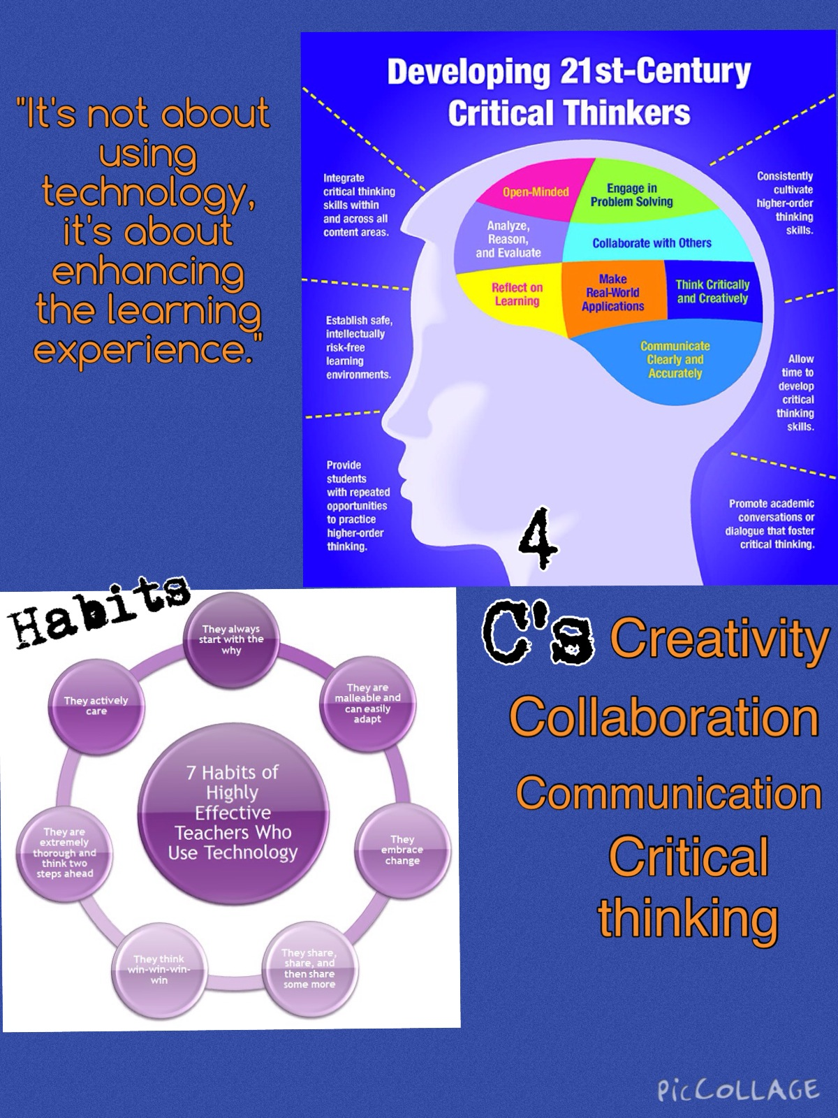 communication and critical thinking skills Critical thinking, communication, collaboration, and creativity critical thinking and problem-solving skills not just to solve the problems of their current jobs.