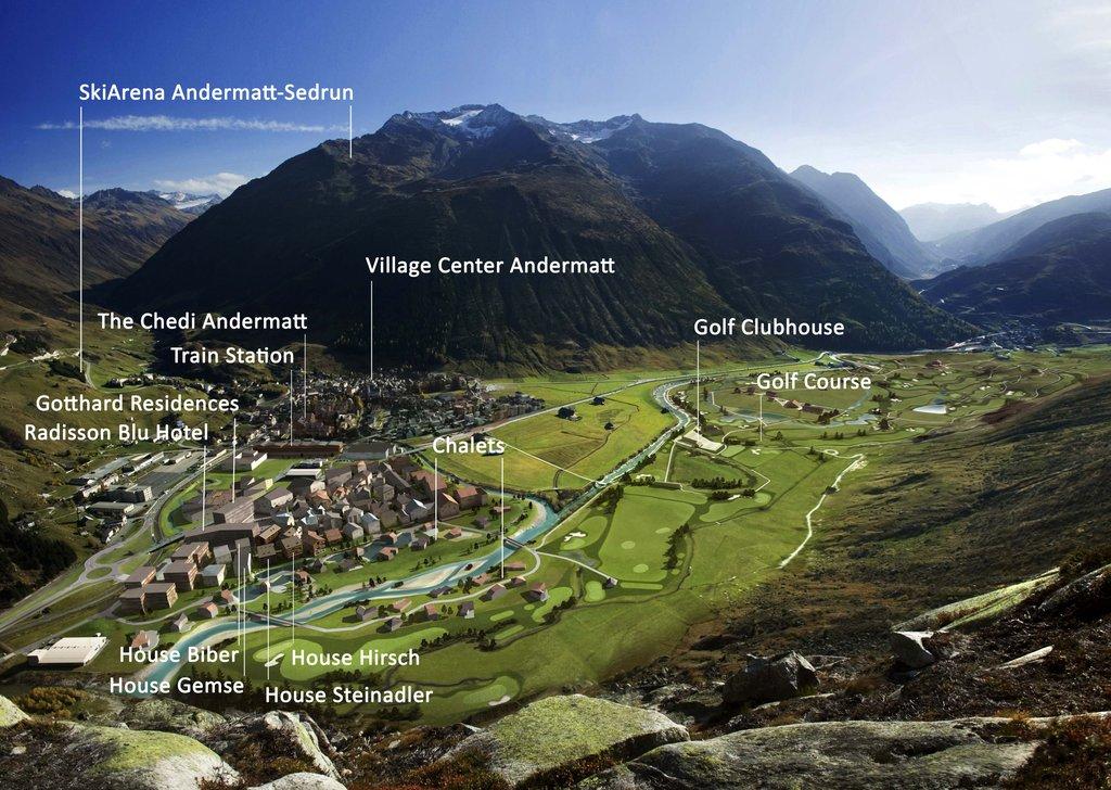 Interactive Map Andermatt Swiss Alps Consolum Realty