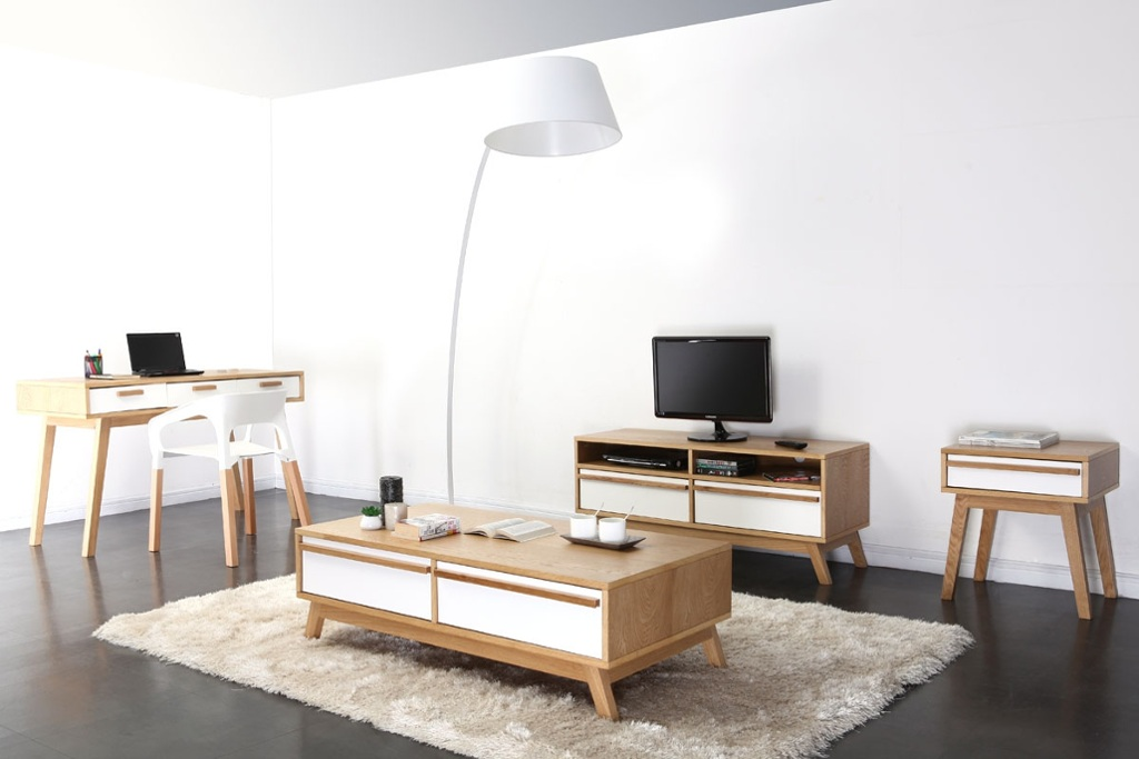 Les meubles scandinaves de miliboo guten morgwen for Meuble salon scandinave