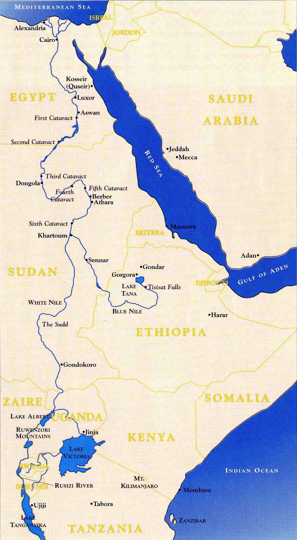geographical features of the nile Geography the ancient egyptians thought of egypt as being divided into two types of land, the 'black land' and the 'red land' the 'black land' was the fertile land on the banks of the nile the ancient egyptians used this land for growing their crops this was the only land in ancient egypt that could be farmed bec.