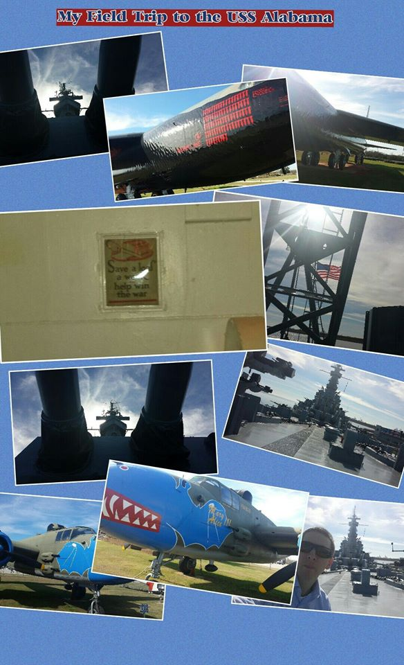 PicCollage, ThingLink, and A Visit to the USS Alabama