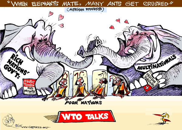 Quot When Elephants Mate Many Ants Get Crushed Quot Thinglink
