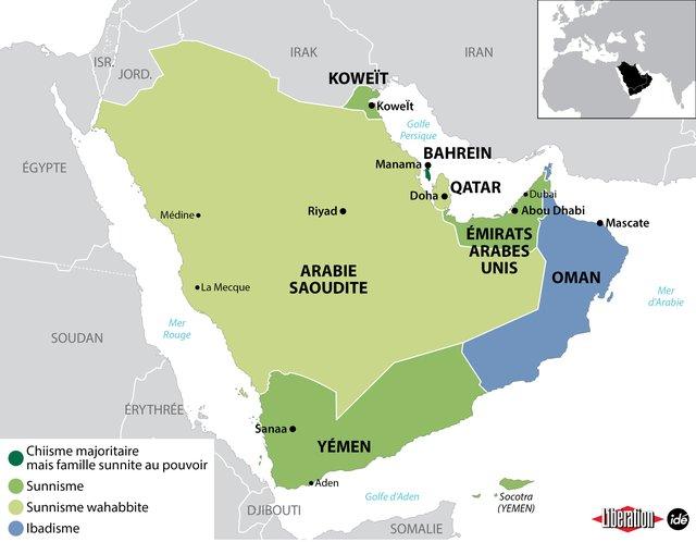 Les sept familles de la péninsule Arabique   Libération