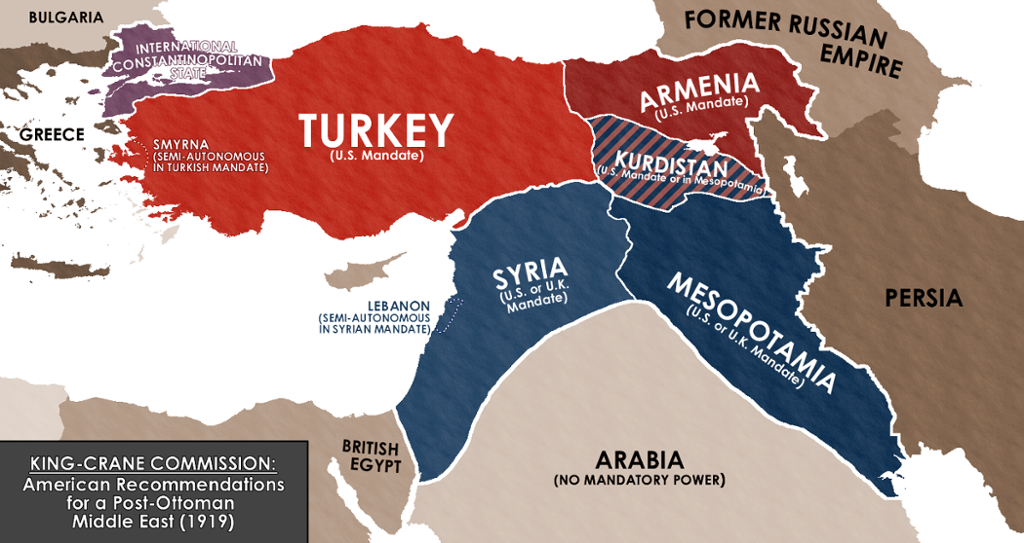 Map The Middle East That Might Have Been Alternate Timelines