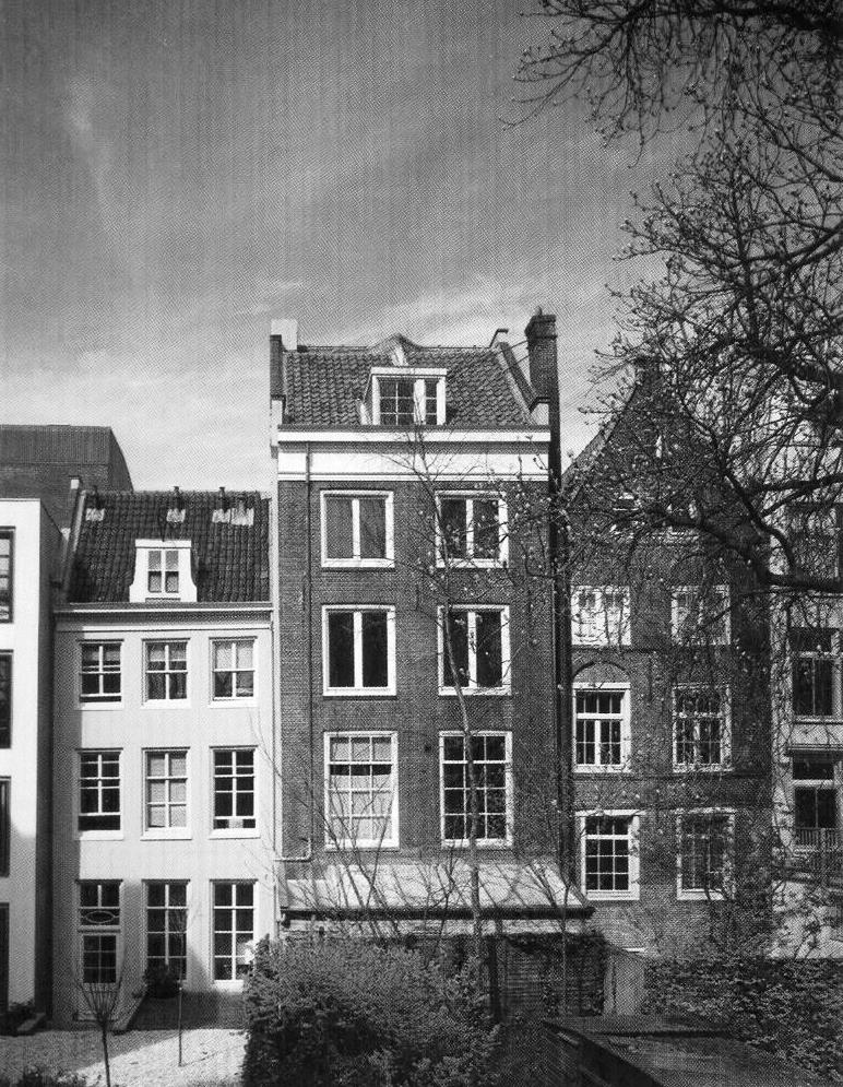 This is the attic where Anne Frank and her family hid fro ...