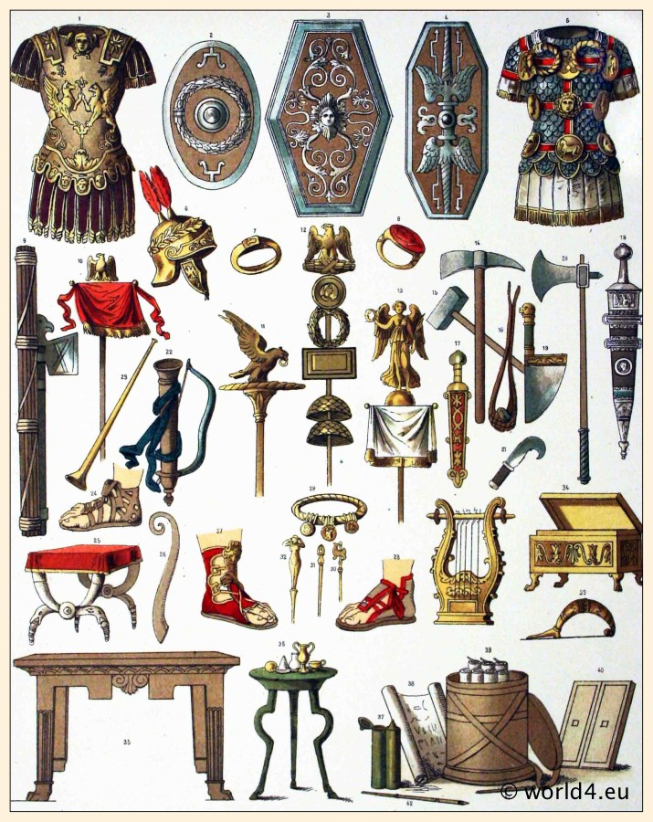 The Roman Weapons And Armour By Arthur And Alex