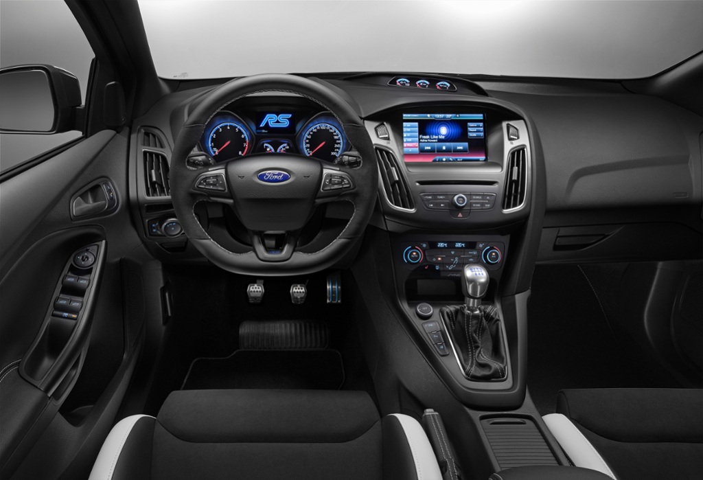 highlights interieur ford focus rs thinglink