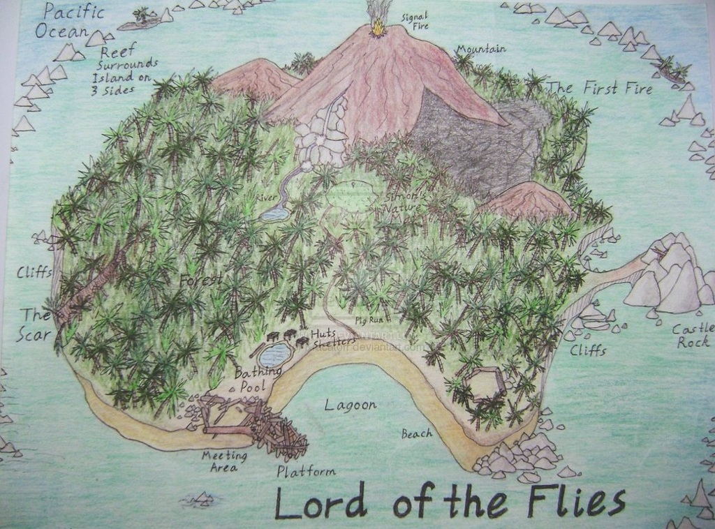 an analysis of symbolism in the lord of the flies Lord of the flies: an analysis by e c bufkin william counts a quest golding's for order lord amidst of the flies the disorder is about that.