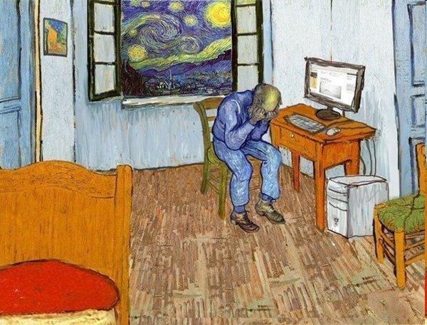 Le monde unique de tableaux de Vincent van Gogh