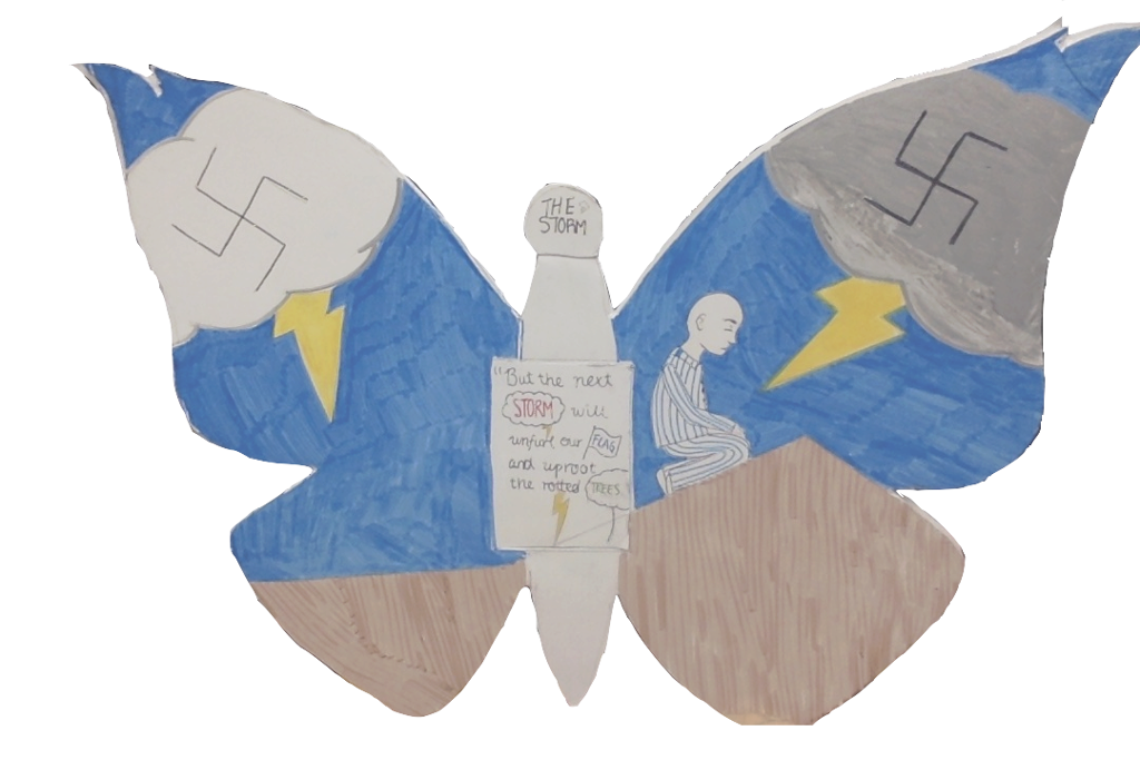 butterfly project holocaust Butterflies are a powerful symbol of transformation and have the ability to make an impact with just a flap of one's wings they are beauty incarnate, symbolizing.