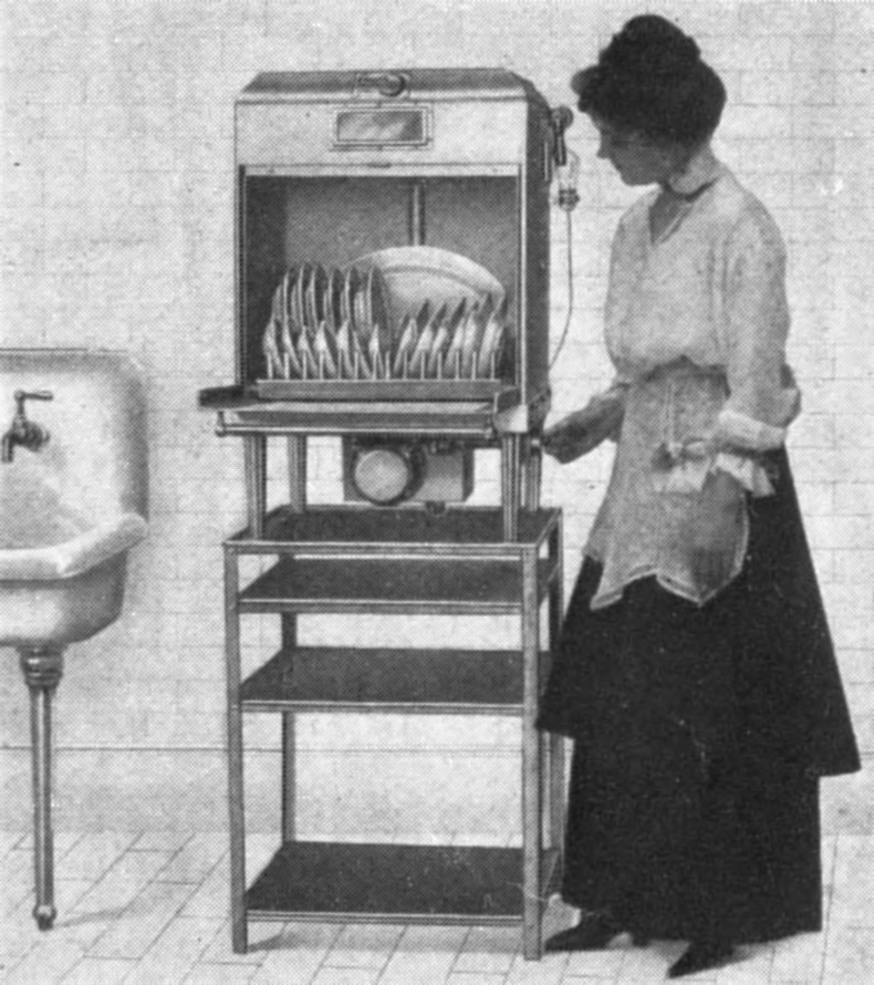 The Dishwasher Was Invented By Josephine Cochrane In 1889