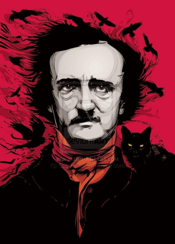 Edgar Allan Poe by Ron Burke