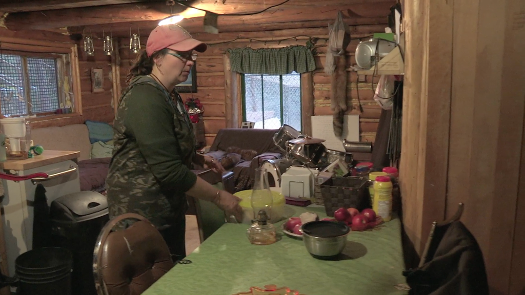 Barks Family Cabin Tour The Living Room Sons Of Winter Discovery