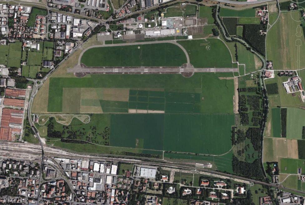 Campovolo ecco l 39 area del nuovo megaconcerto di ligabue - Gualtieri mobili reggio emilia ...