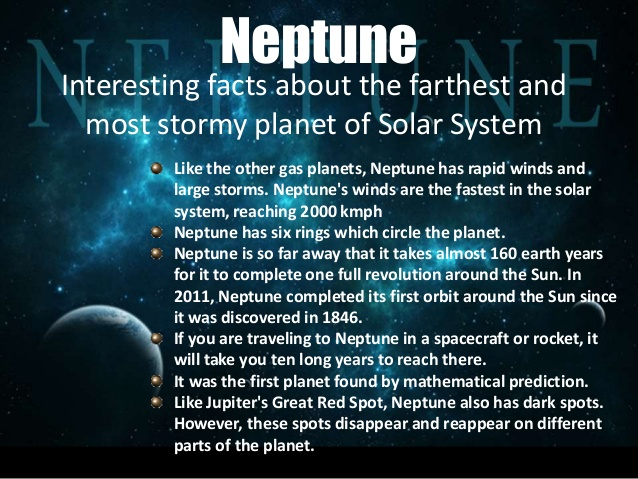 Facts About Neptune
