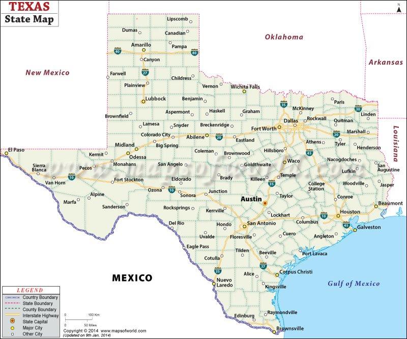 Major Cities Near El Paso