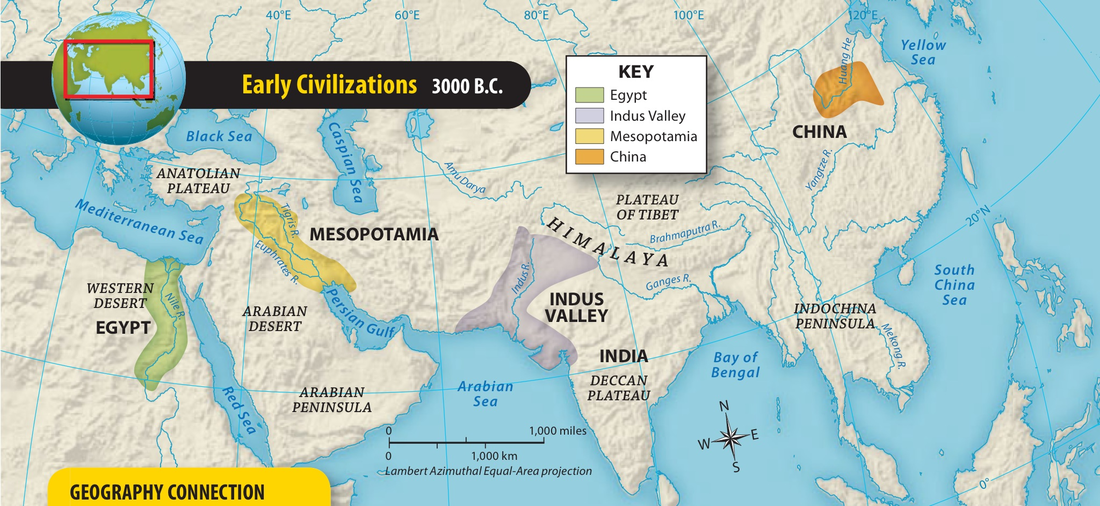 the cultures in the civilizations of mesopotamia and egypt