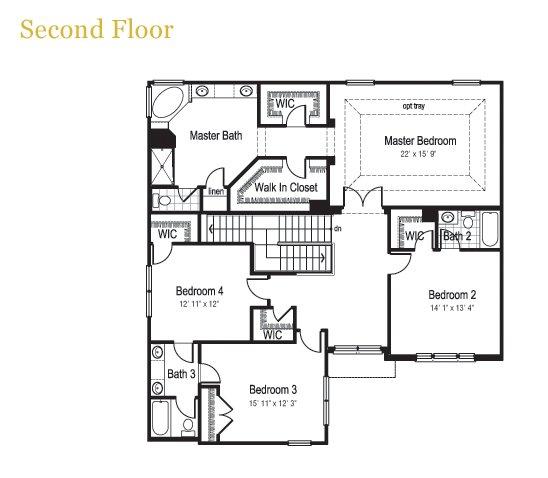 Interactive floorplan meritus homes dunberry crown for Home builder interactive floor plans
