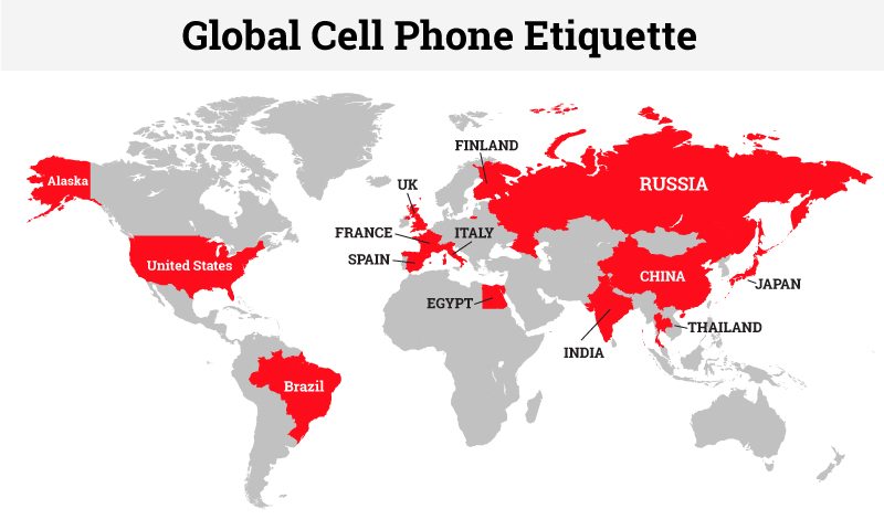 global cell phone etiquette