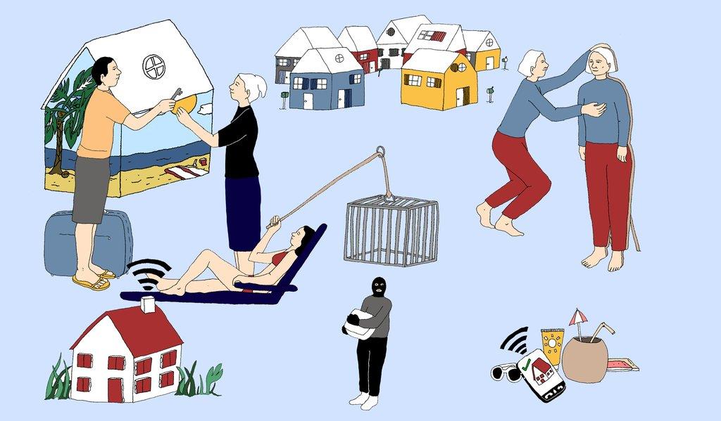 comment faire pour viter les cambriolages s curiser sa maison pendant les vacances. Black Bedroom Furniture Sets. Home Design Ideas