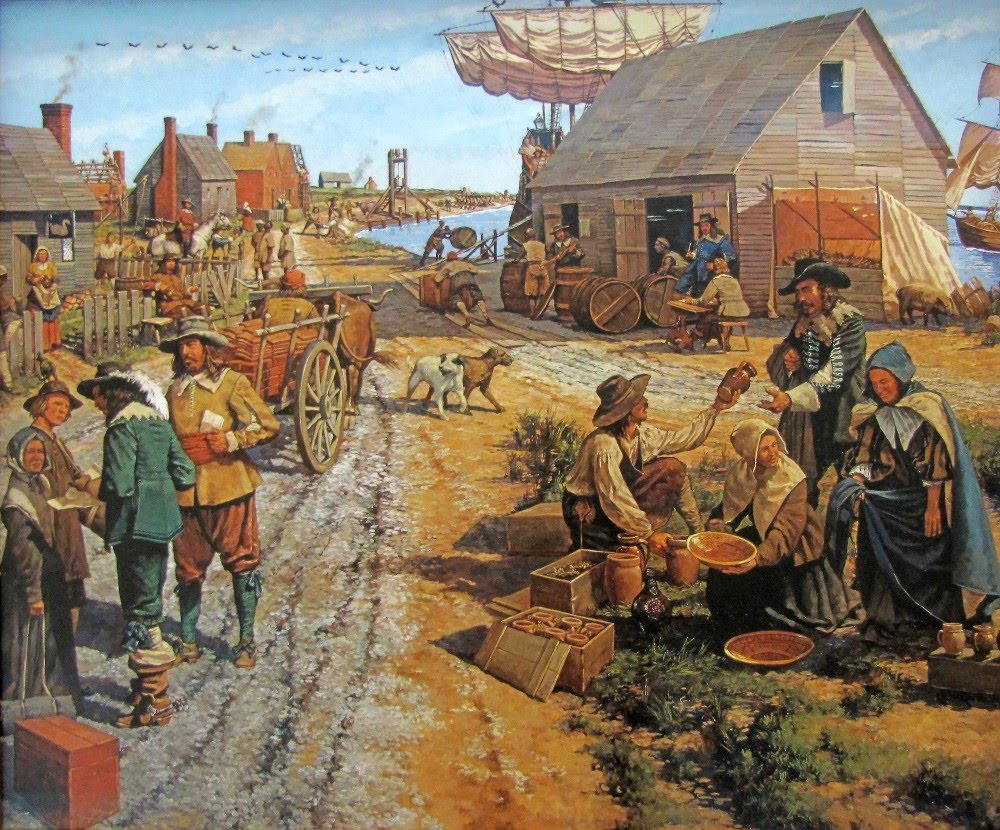 compare and contrast the native americans and the colonists in the colonial experience