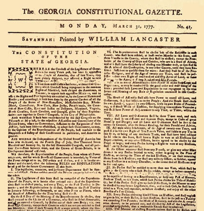Georgia Constitution