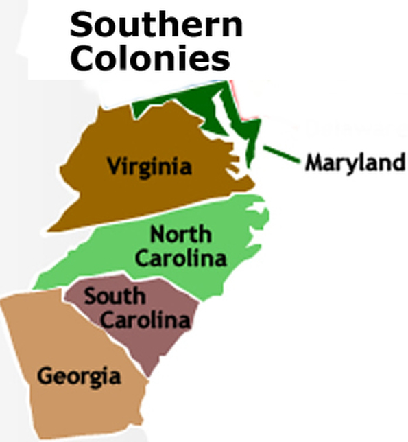 southern colonies thinglink