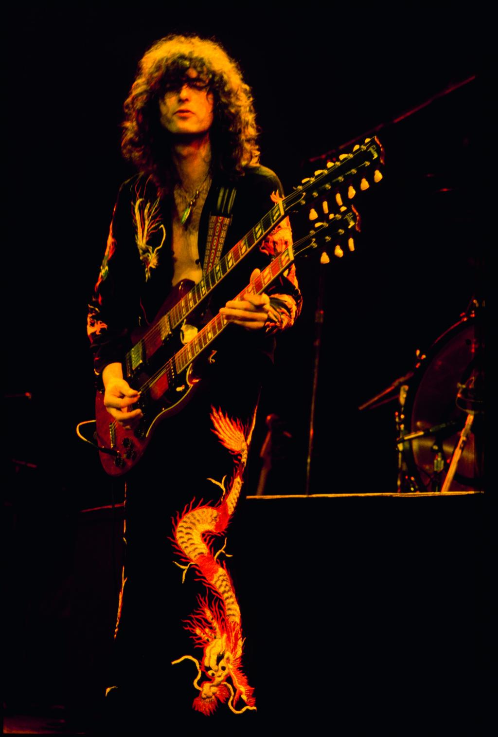 Jimmy Page Black Dog Live