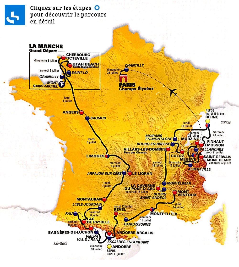 carte-du-tour-de-france-2016