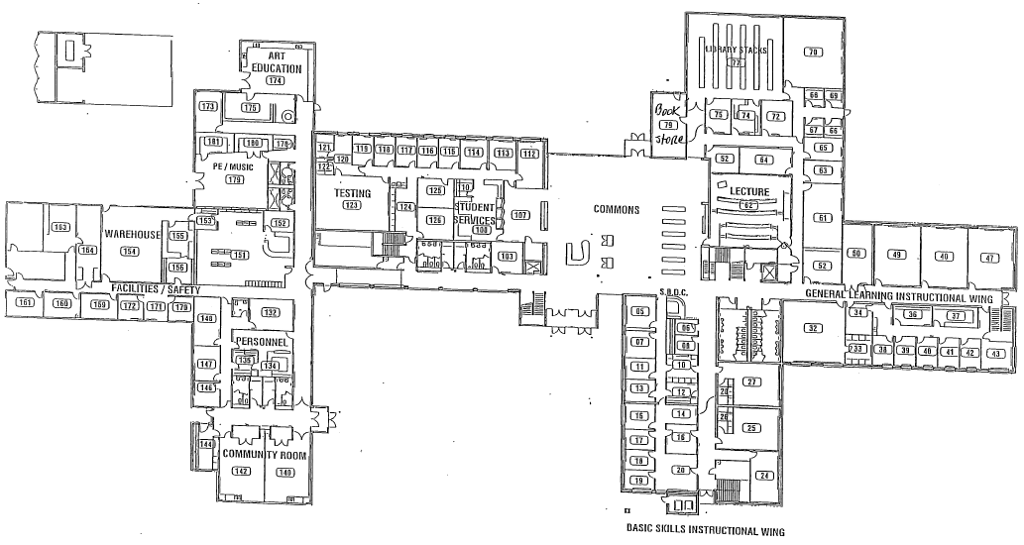 OCCC Map with Programs