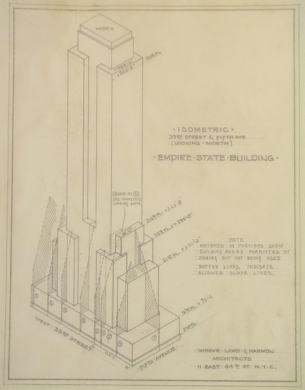 When The Empire State Building Was Just An Architects