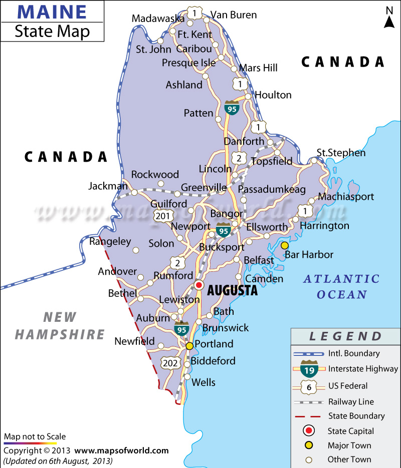 Th Grade Maine Projects Chatty KathysTechnology Integration - 4th grade map us major cities