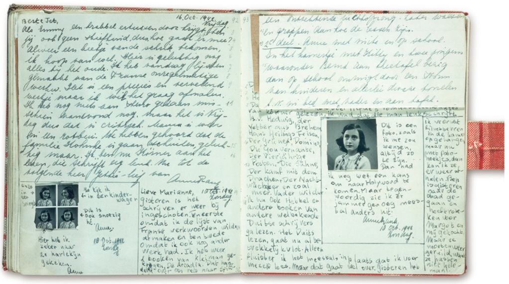 the diary of anne frank during the invasion of the nazi 25062015  when the diary of anne frank was first published in english, as anne frank: the diary of a young girl, a full decade had passed since a young anne received.