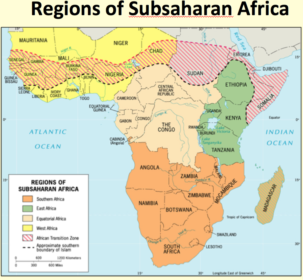 relative isolation of sub saharan africa Overhauling the engine of growth: infrastructure in africa income countries in sub-saharan africa relative to other addressing the rural isolation problem.