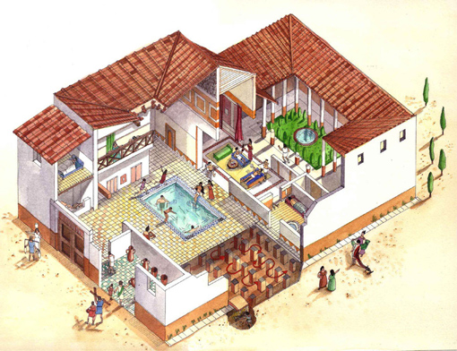 A hypocaust latin hypocaustum was an ancient roman syst thinglink - Maison romaine antique ...
