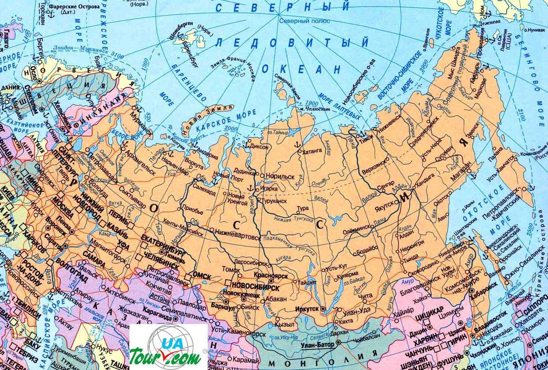 Где на карте находится западная сибирь на карте россии
