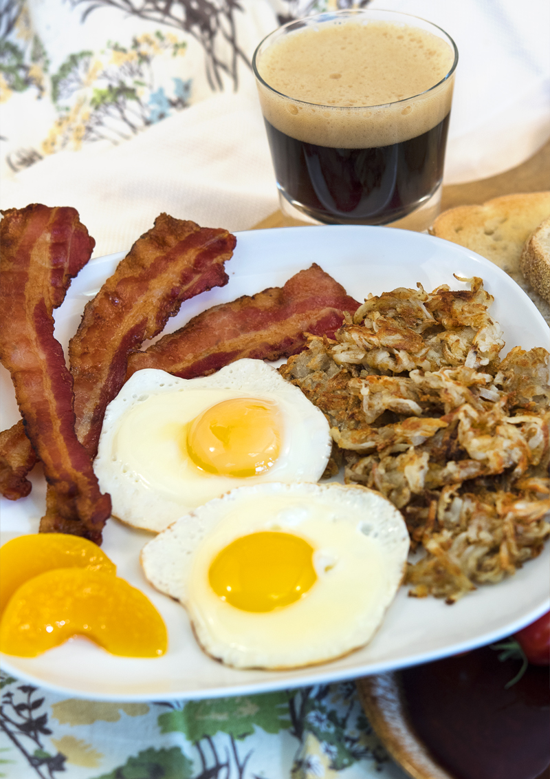 one dish four beers classic american breakfast