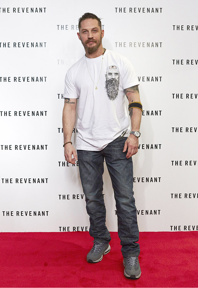 How Tom Hardy Ripped Up The Red Carpet Rule Book