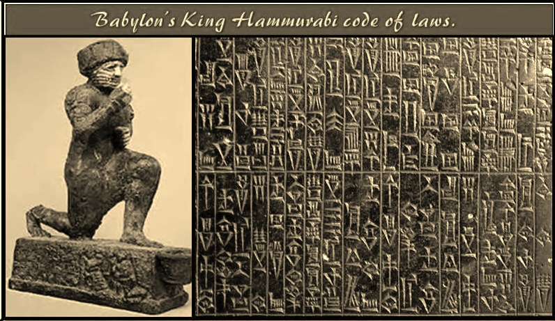 an analysis of the role of hammurabi and his position as king of babylonia