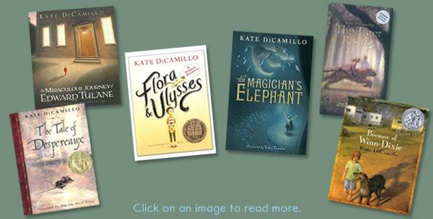 Image result for kate dicamillo books list