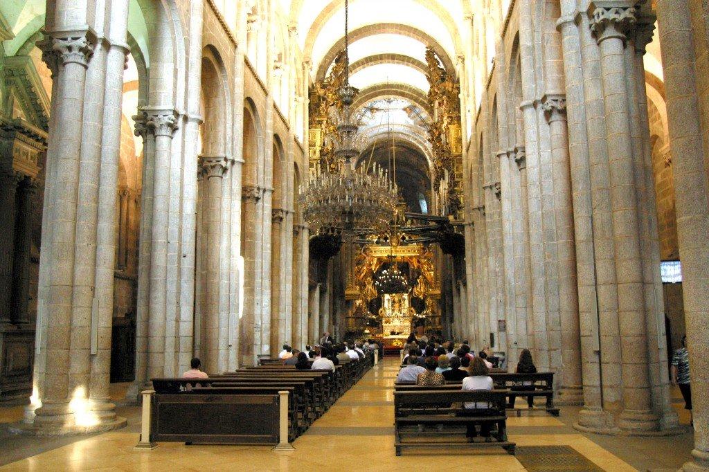 Interior da catedral de santiago de cmpostela thinglink - Interior santiago de compostela ...