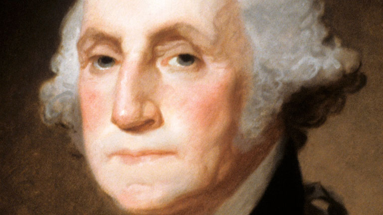 the biography of george washington George washington was the first president of the united states of america he was born in 1732 in westmoreland county, va, and died in 1799 at his mount vernon home.