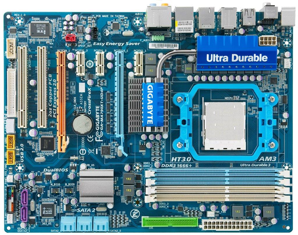 CMOS BATTERY SLOT , PCI SLOTS, IDE CONNECTOR, CPU FAN, AU...